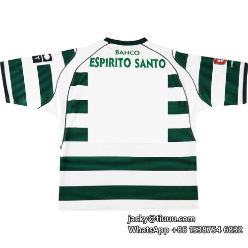 Sporting Lisbon 2002-03 Home Retro Jersey