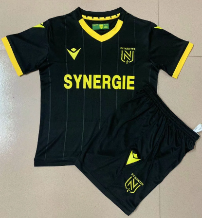 FC Nantes 20/21 Kids Away Soccer Jersey and Short Kit
