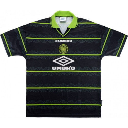 Celtic 1998-99 Away Retro Jersey Viduka #36