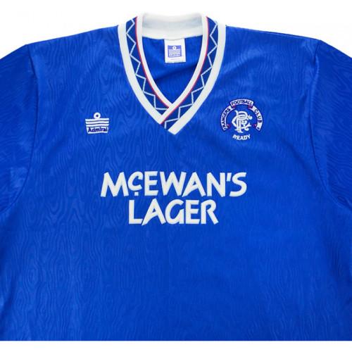 Rangers 1990-1992 Home Retro Jersey