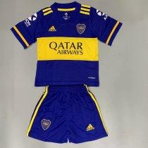 Boca Juniors 20/21 Kids Home Soccer Jersey and Short Kit
