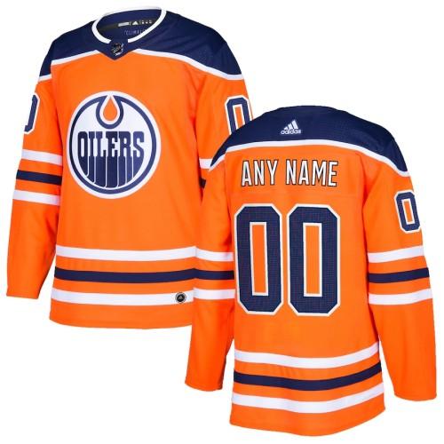 Men's Orange Custom Team Jersey