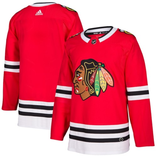 Men's Red Home Blank Team Jersey