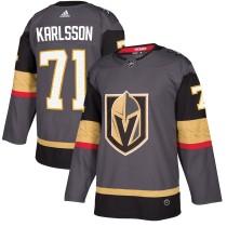 Youth William Karlsson Gray Player Team Jersey