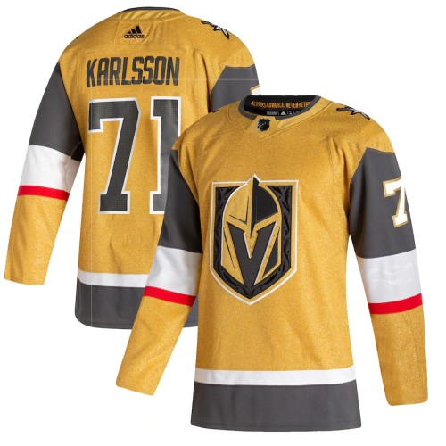 Men's William Karlsson Gold 202021 Alternate Player Team Jersey