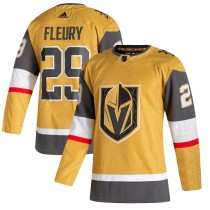Youth Marc-Andre Fleury Gold 2020-21 Alternate Player Team Jersey