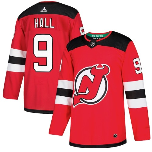 Men's Taylor Hall Red Player Team Jersey