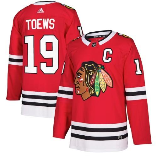 Men's Jonathan Toews Red Player Team Jersey