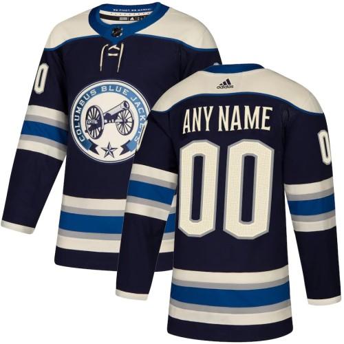 Men's Navy Alternate Custom Team Jersey