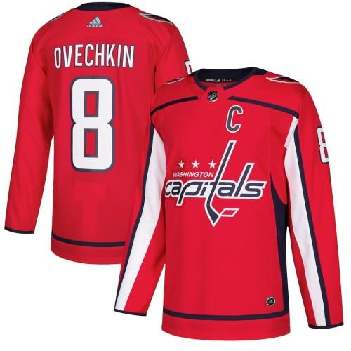 Men's Alexander Ovechkin Red Player Team Jersey