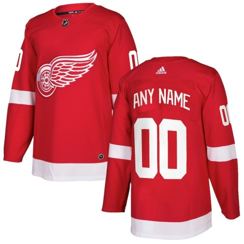 Men's Red Custom Team Jersey