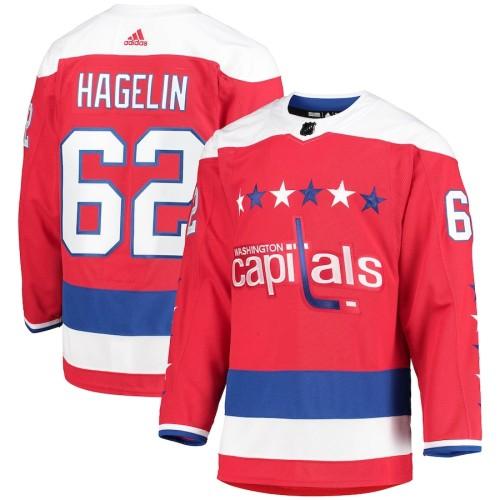 Men's Carl Hagelin Red Alternate Team Jersey