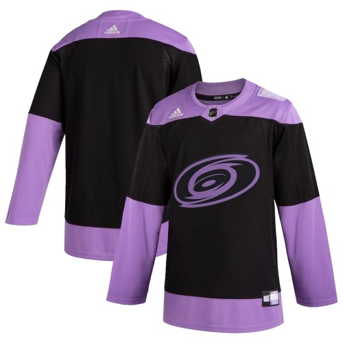 Youth Black Hockey Fights Cancer Practice Team Jersey