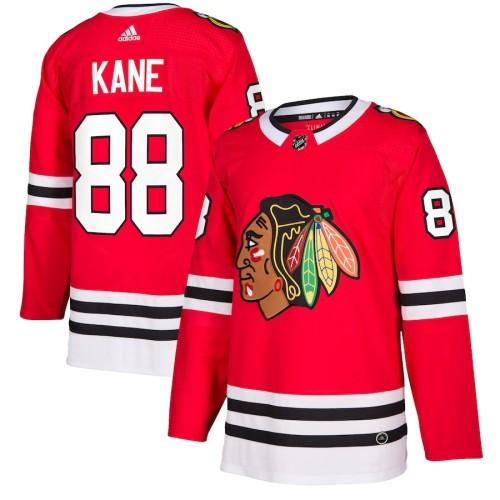 Men's Patrick Kane Red Player Team Jersey