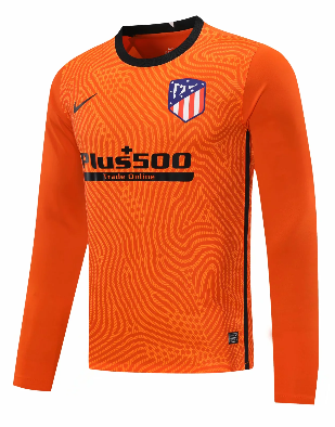 Thai Version Atletico Madrid 20/21 Goalkeeper LS Soccer Jersey - 001