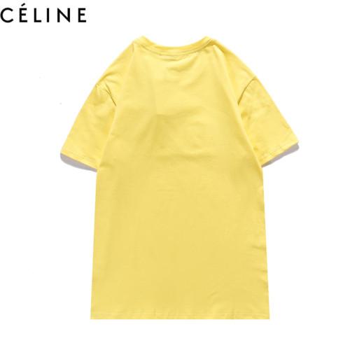 Luxury Fashion Brand T-shirt Yellow