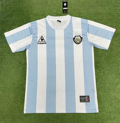 Argentina 1986 Commemorate Retro Jersey