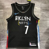 Thai Version Men's Kevin Durant 2020-21 Black Swingman Player Jersey – City Edition