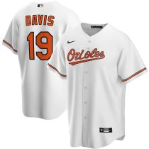 Youth Chris Davis White Home 2020 Player Team Jersey