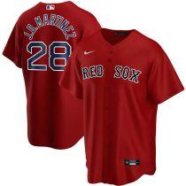 Men's J.D. Martinez Red Alternate 2020 Player Team Jersey