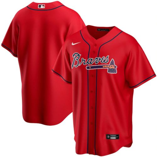 Men's Red Alternate 2020 Team Jersey