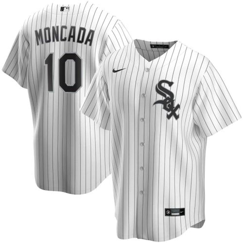 Youth Yoan Moncada White Home 2020 Player Team Jersey
