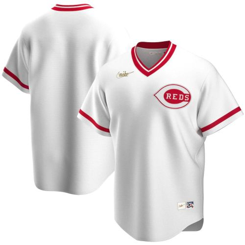 Men's White Home Cooperstown Collection Team Jersey