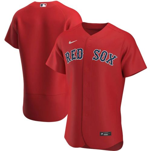 Men's Red Alternate 2020 Authentic Team Jersey