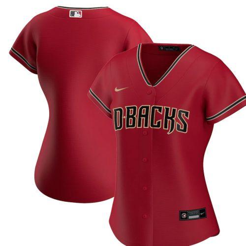 Women's Red Alternate 2020 Team Jersey