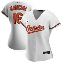 Women's Trey Mancini White Home 2020 Player Team Jersey