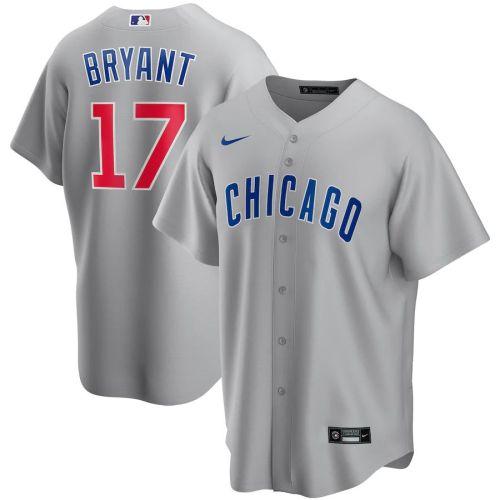 Men's Kris Bryant Gray Road 2020 Player Team Jersey