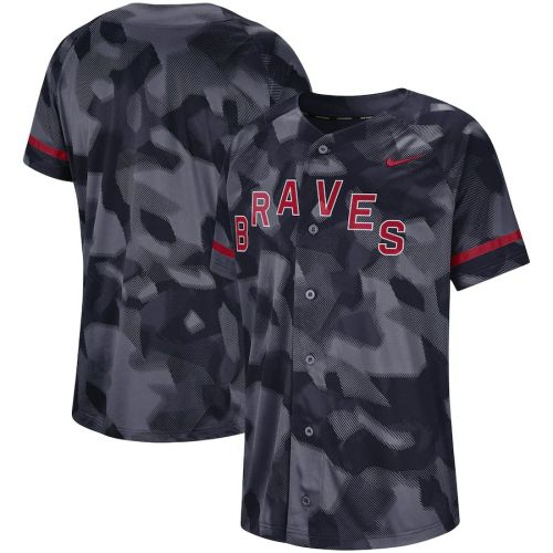 Men's Navy Camo Team Jersey
