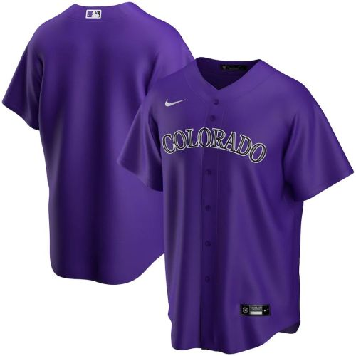Men's Purple Alternate 2020 Team Jersey