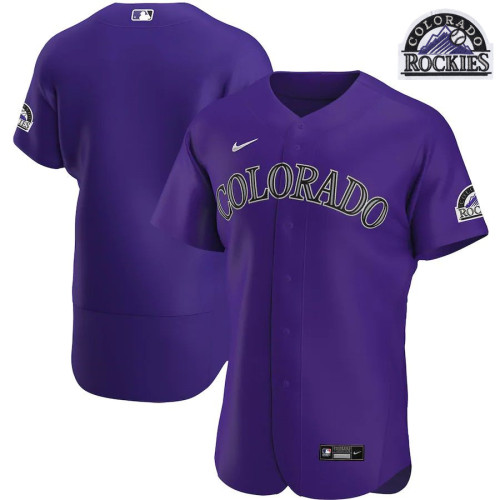 Men's Purple Alternate 2020 Authentic Team Jersey