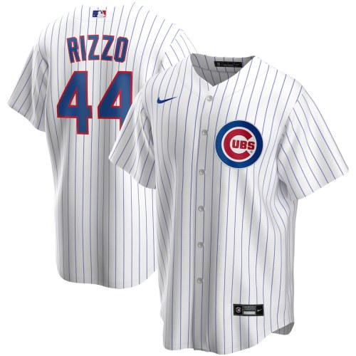 Men's Anthony Rizzo White Home 2020 Player Team Jersey