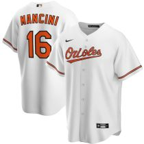 Youth Trey Mancini White Home 2020 Player Team Jersey