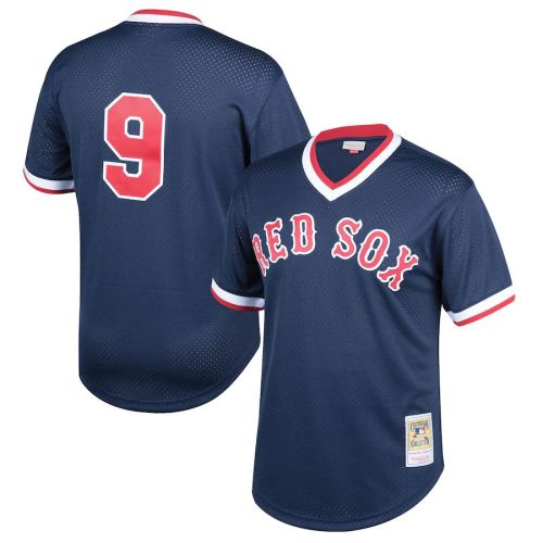Mens Ted Williams Cream Throwback Jersey