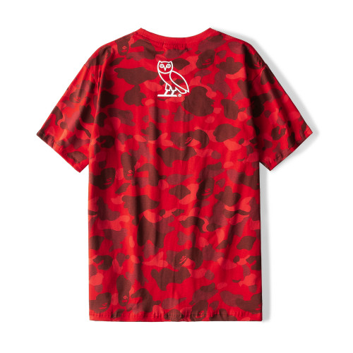 Streetwear Brand T-shirt Red 2021.1.3