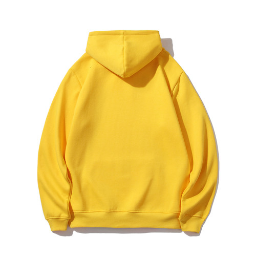 Casual Wear Brand Hoodies Yellow 2021.1.3