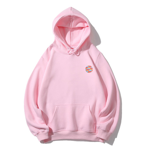 Casual Wear Brand Hoodies Pink 2021.1.3