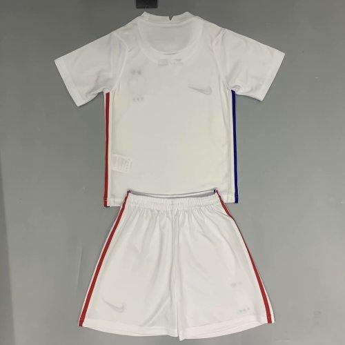 France 2020 Kids Away Soccer Jersey and Short Kit
