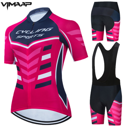 Women's 2021 Cycling Raod Race Suit Pro Team Cycling Jersey