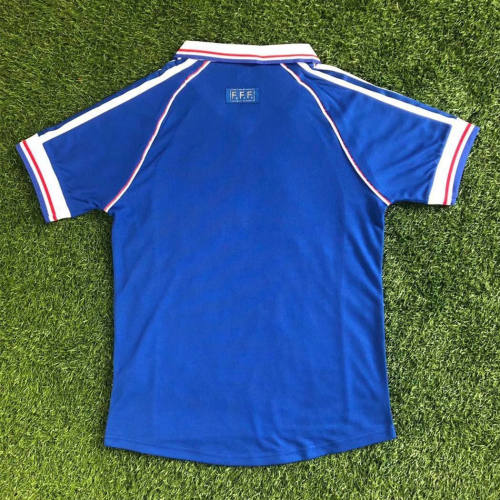 France 1998 World Cup Home Retro Jersey