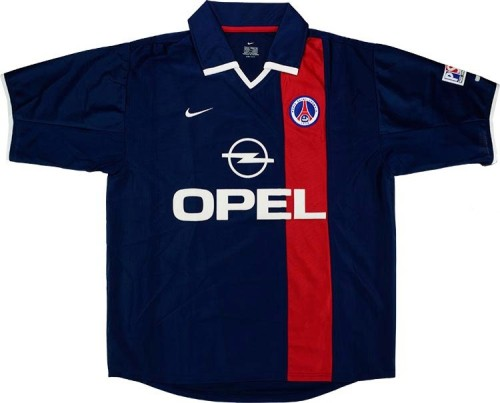 PSG 2001-2002 Home Retro Jersey