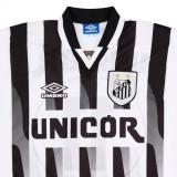 Santos 1998 Home Retro Soccer Jersey #11 Robson Luiz