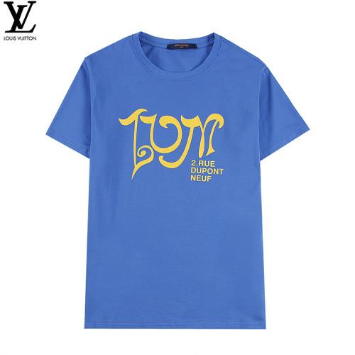 Luxury Fashion Brand T-shirt Blue 2021.1.15