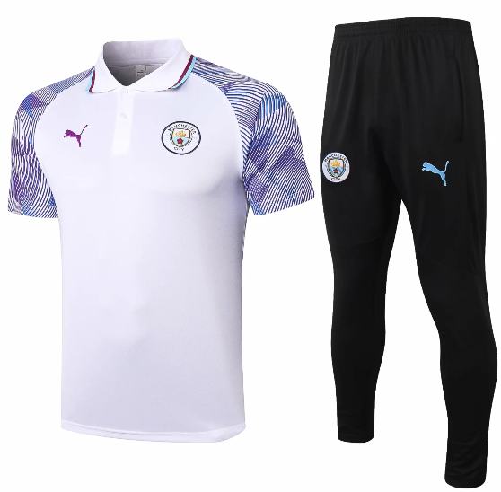 Manchester City 20/21 Training Polo and Pants C601