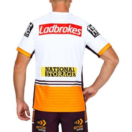 Brisbane Broncos 2021 Men's Away Rugby Jersey