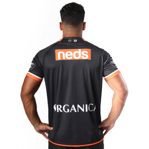 Wests Tigers 2021 Men's Home Rugby Jersey