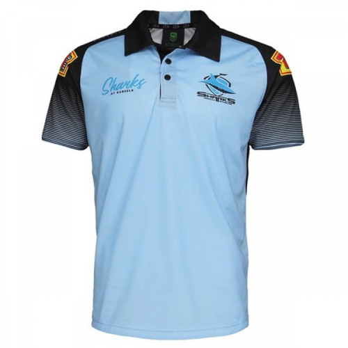 Cronulla Sharks 2021 Men's Training Rugby Polo